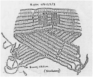 The dish is graphically represented by the wampum pictured.